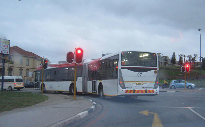 An engineer says several buses are still not in use in Port Elizabeth because they're too large for the lanes they're meant to drive in. Picture: Supplied.