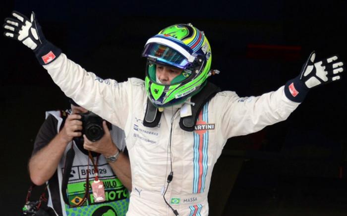 FILE:Williams driver Felipe Massa.Picture: AFP.