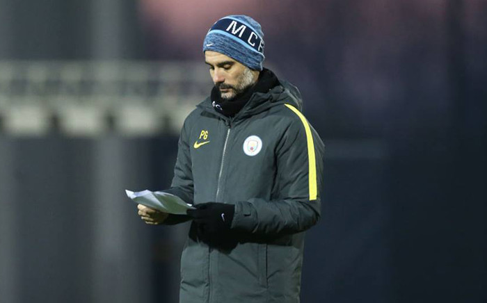Manchester City's manager Pep Guardiola. Picture: Facebook