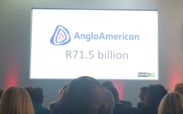 President Cyril Ramaphosa is hosting over 1,000 delegates including top CEOs from across the world at the Sandton Convention Centre. Anglo American invested the largest share with over R71 billion. Picture: @SAgovnews/Twitter