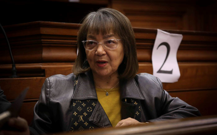 FILE: Patricia de Lille in the Western Cape High Court ahead of judgement in her case against the DA. Picture: Cindy Archillies/EWN