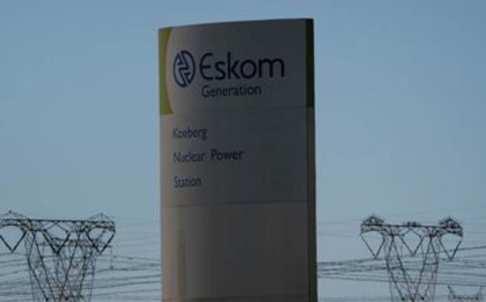 Eskom. Picture: AFP.
