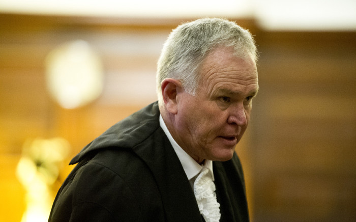 Advocate Barry Roux in court as the state is appealing Oscar Pistorius's culpable homicide conviction in the Supreme Court of Appeal on 3 November 2015. Picture: Pool