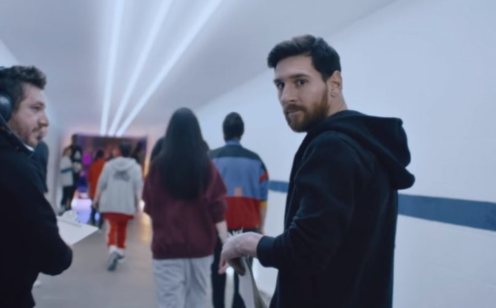A screengrab of Adidas brand ambassador Lionel Messi. Picture: www.adidas.co.za