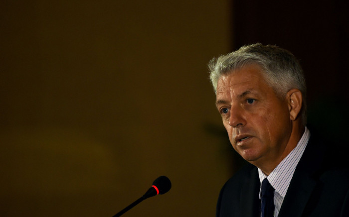 International Cricket Council (ICC) chief executive David Richardson. Picture: @ICC/Twitter.