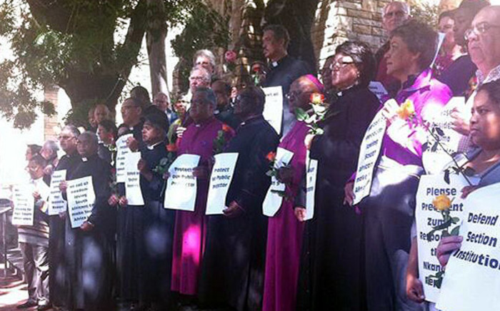FILE: A special vigil for Nkandla was held at St George's Cathedral in the Cape Town CBD on 28 March 2014. Picture: EWN.