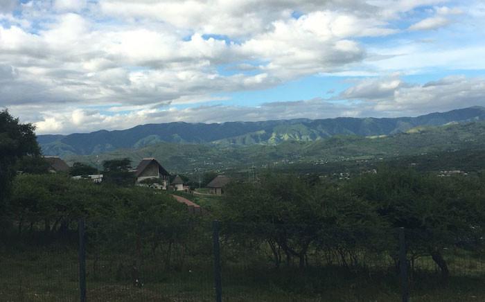 A view of Nkandla in KwaZulu-Natal. Picture: Ziyanda Ngcobo/EWN.