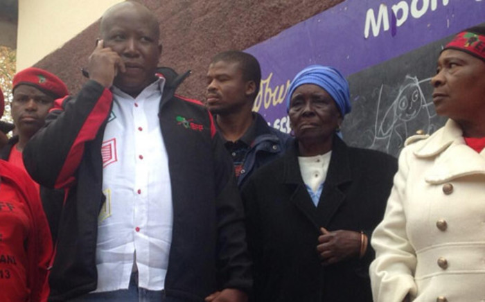 Julius Malema said although his party is only eight months old, it has campaigned like veterans. Picture: Reinart Toerien/EWN.