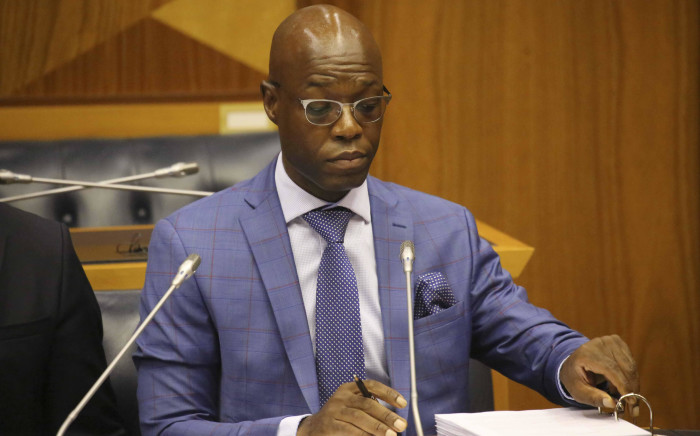 FILE: Former Eskom acting CEO Matshela Koko testifying before the Eskom parliamentary inquiry into state capture on 24 January 2018. Picture: Cindy Archillies/EWN