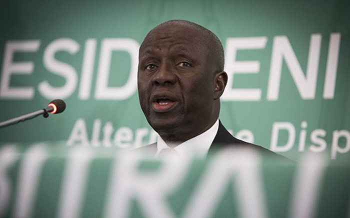 Former Deputy Chief Justice Dikgang Moseneke. Picture: Sethembiso Zulu/EWN
