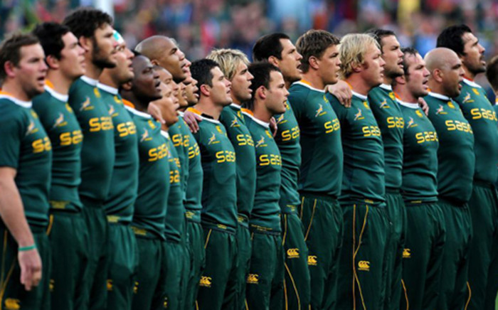 The Springboks. Picture: Rugby15
