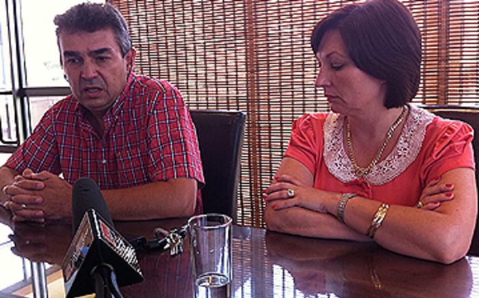 Ivan and Sharon Siancic speak about their daughter Chanelle. Picture:Barry Bateman/EWN