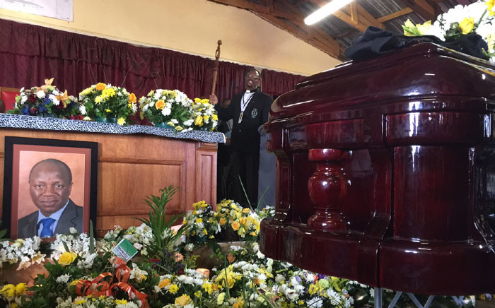 A church service was held for the late Minister of Public Service and Administration Collins Chabane in the Xikundu village in Limpopo. Picture: Reinart Toerien/EWN.