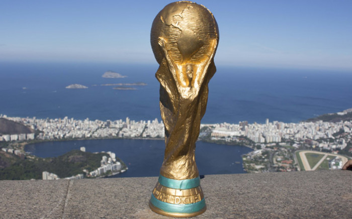 The World Cup trophy. Picture: Christa Eybers/EWN.