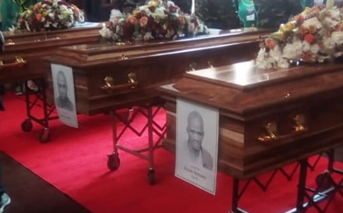Government on Saturday 19 March 2019 handed over the remains of anti-apartheid activists to their families at Freedom Park in Pretoria. Picture: Facebook