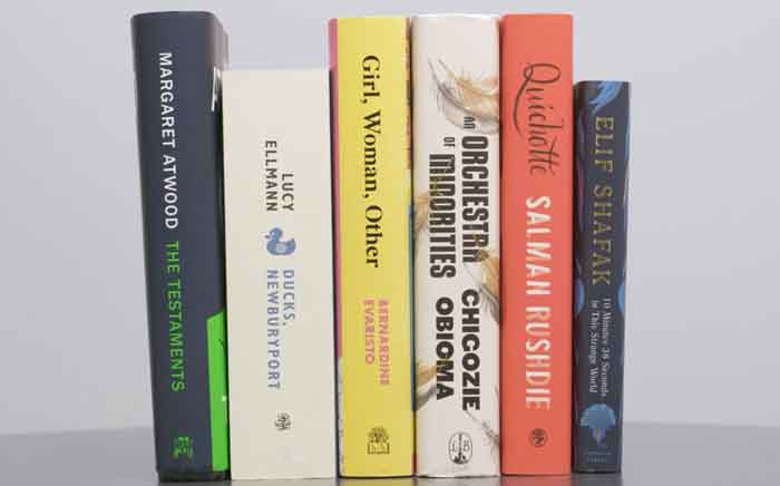 The year's shortlist for the Booker Prize features six novels. Picture: Twitter/@TheBookerPrizes