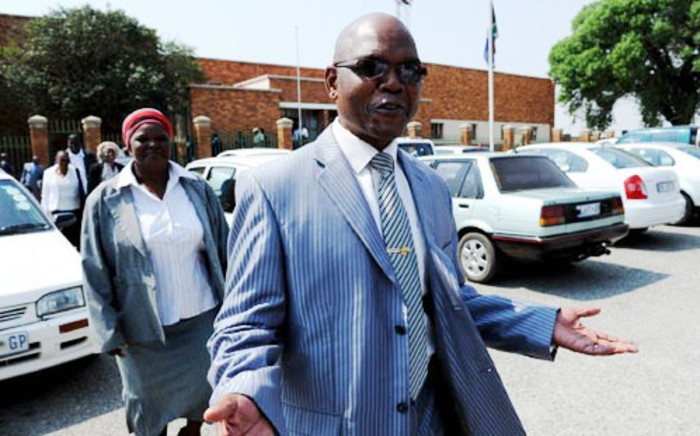Suspended Crime Intelligence head Richard Mdluli. Picture: SAPA.