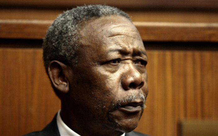 Late former police chief and ex-president of Interpol Jackie Selebi: Picture: AFP.