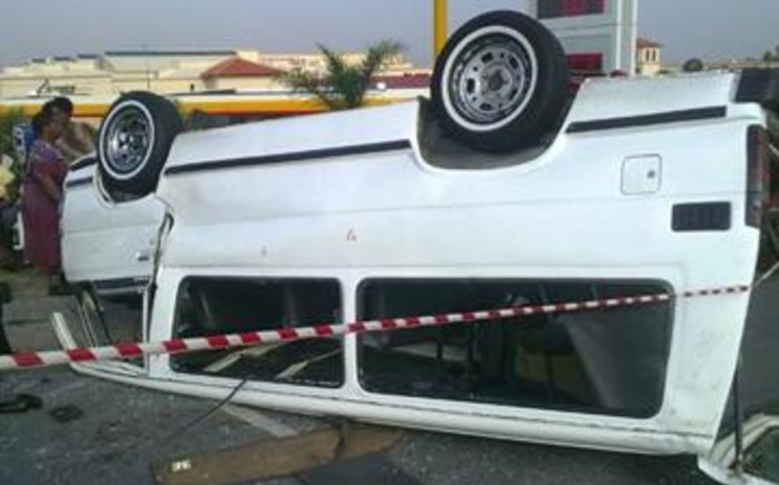 FILE: Western Cape Traffic Chief Kenny Africa says the driver lost control of the vehicle due to a tyre burst. Picture: EWN