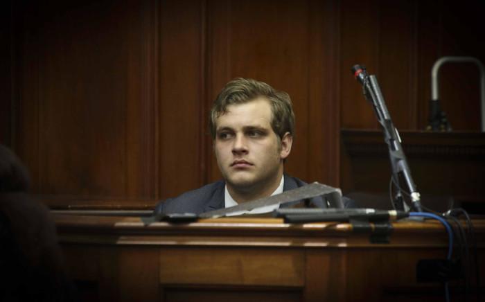 Triple murder accused Henri Van Breda in the Western Cape High Court on 1 November 2017. Picture: Cindy Archillies/EWN