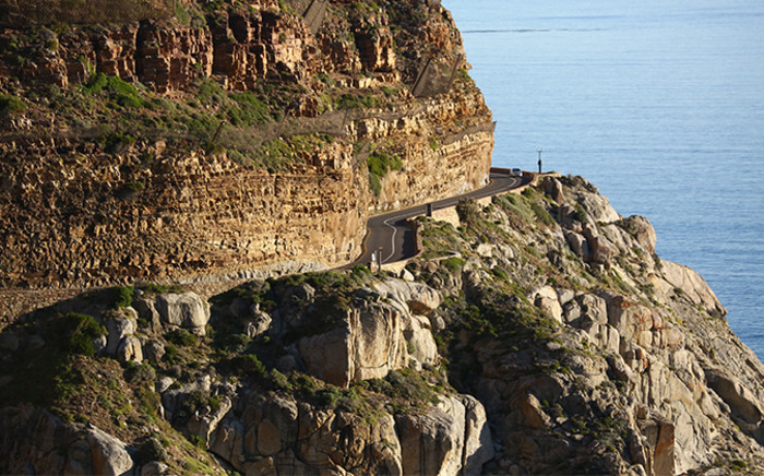 FILE: There are still concerns about safety along the scenic drive as catchment nets had been damaged. Picture: EWN.