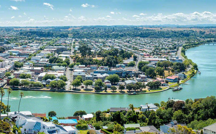 "The Whanganui River in New Zealand has been granted ""legal personhood"". Picture: Twitter/@theNZstory."