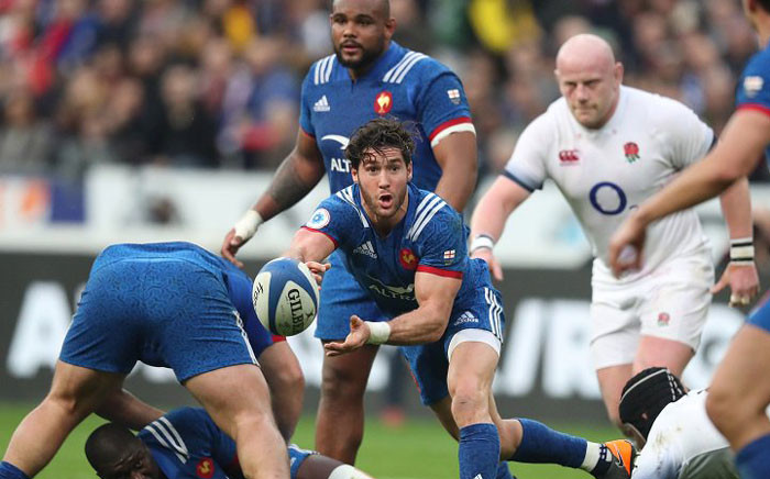 France vs England at the Stade de France in Saint-Denis, France on March 10 during the Six Nations Championship. Picture: @SixNationsRugby/Twitter.