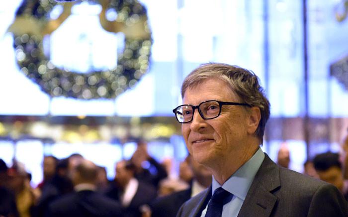FILE: Philanthropist Bill Gates. Picture: AFP
