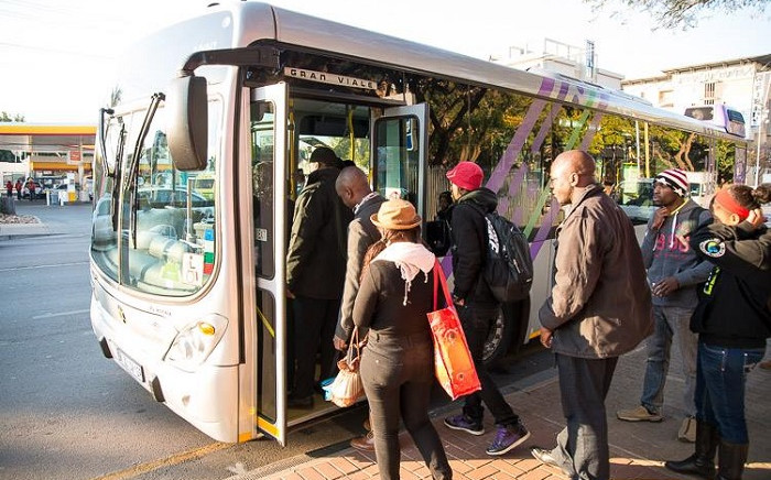 City of Tshwane Metropolitan Municipality's A Re Yeng bus service. Picture: @A_RE_YENG/Twitter.