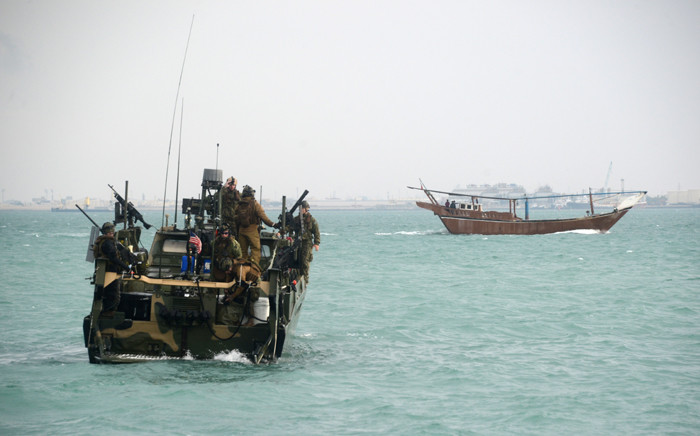 This US Navy photo, shows the type of riverine command boat apprehended by Iran on 12 January, 2016. Picture: AFP.
