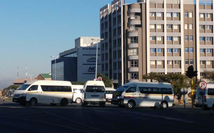 FILE: Taxi's blocking the entrance to the Midrand Gautrain station, motorists are advised to park elsewhere and walk in. Picture: Khumu Thema/EWN