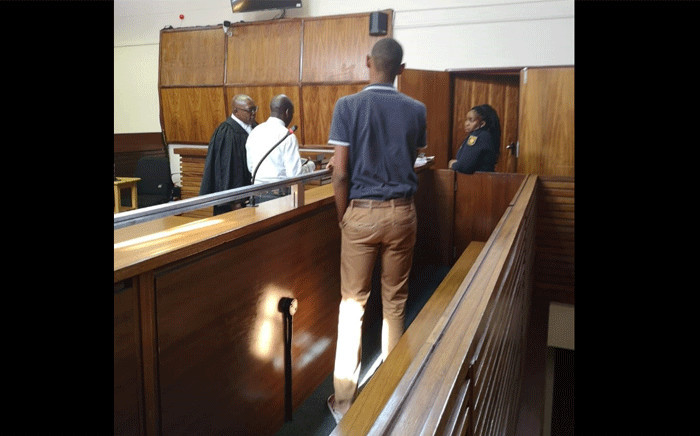 A pupil who attacked his English teacher at the Bosele Middle School hostel in court. Picture: SAPS.