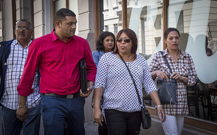 Zephany Nurse's father, Morne, makes his way to the Western Cape High Court. Picture: Thomas Holder/EWN.