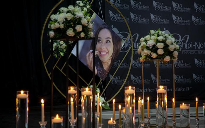 Mshoza's memorial service was held in Newtown on 25 November 2020. Picture: Xanderleigh Dookey/EWN.