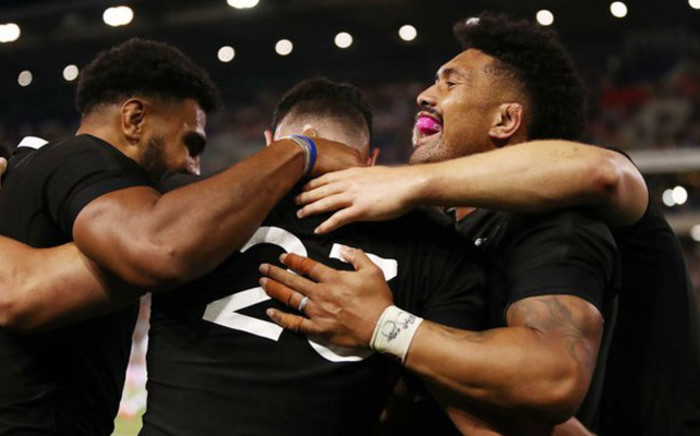 The All Blacks crushed Argentina 38-0 Saturday. Picture: Twitter @AllBlacks.
