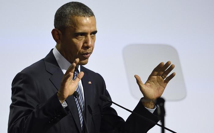 United States President Barack Obama. Picture: AFP.