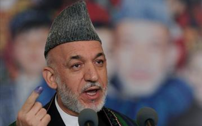 Afghan president Hamid Karzai. Picture: AFP