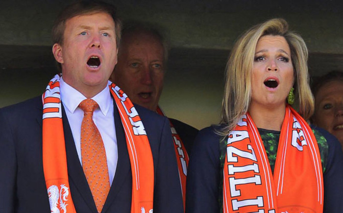 King Willem-Alexander and Queen Maxima of the Netherlands. Picture: Facebook.