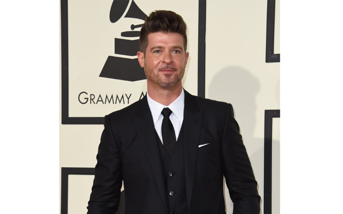 American singer-songwriter Robin Thicke. Picture: @robinthicke/Twitter