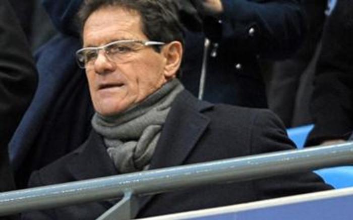 England's Italian manager Fabio Capello. Picture: AFP.
