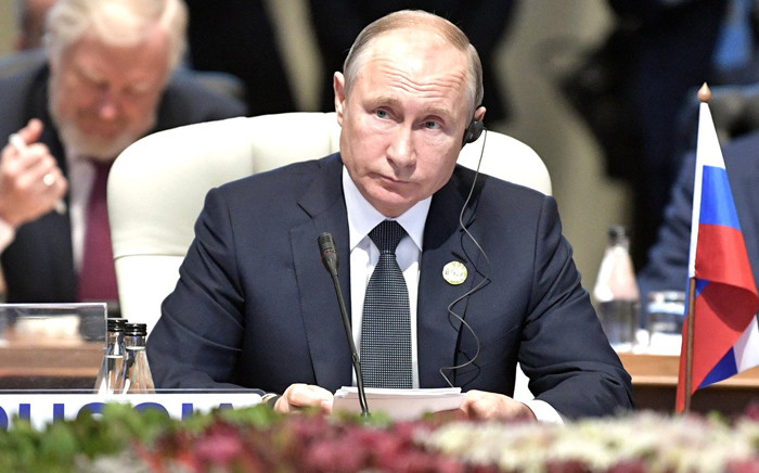 FILE: Russian President Vladimir Putin. Picture: AFP