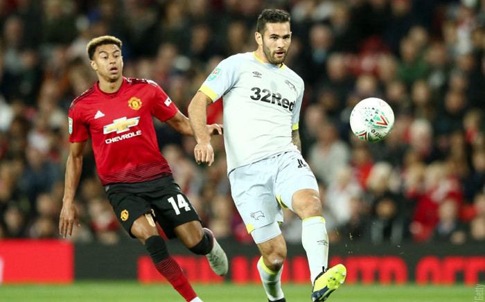 Manchester United crashed out of the League Cup with a defeat on penalties to Championship side Derby County. Picture: @ManUtd/Twitter.