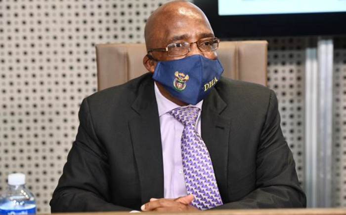 FILE: Minister of Home Affairs Aaron Motsoaledi. Picture: GCIS.
