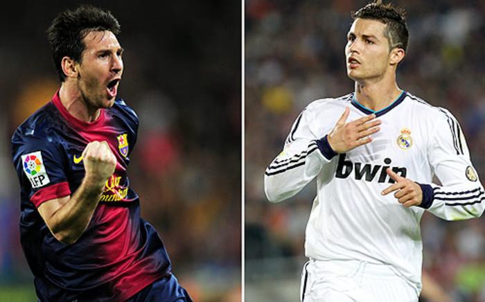 SUPERSTARS: Lionel Messi & Cristiano Ronaldo are the world's leading players.