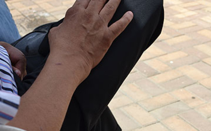 FILE: A Dougans spokesperson in Reiger Park. Picture: Mandy Wiener/EWN