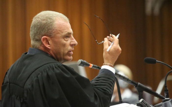 State prosecutor Gerrie Nel. Picture: Pool.