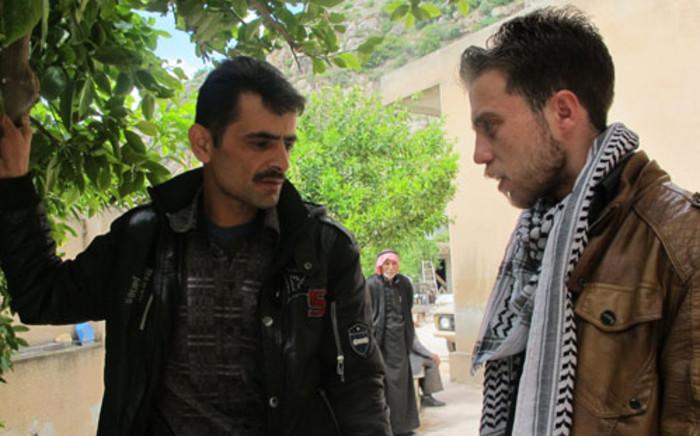A 'Free Syria' fighter in Darkoush, Syria. Picture: Rahima Essop/EWN.