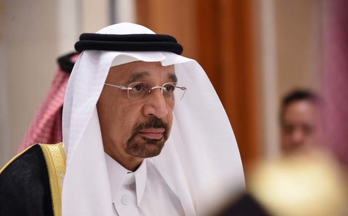 Saudi Energy and Oil Minister Khalid Al-Falih at the Future Investment Initiative (FII) conference in Riyadh, on 24 October 2017. Picture: AFP