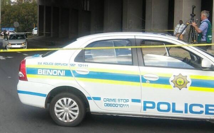 FILE: The police apprehended two wounded suspects after a shoot out with police in Benoni on 16 May 2016. Picture: SAPS.