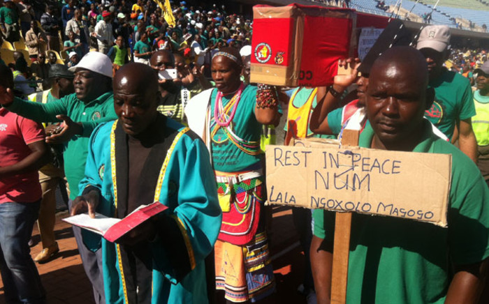 FILE: Amcu has made fresh calls for the killings on the platinum belt to stop and for officers to act swiftly. Picture: Reinart Toerien/EWN.